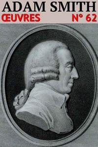 Livre numérique Adam Smith - Oeuvres
