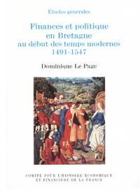 Livre numérique Finances et politique en Bretagne