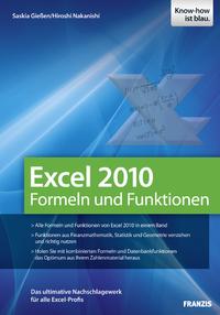 Livre numérique Excel 2010 Formeln und Funktionen
