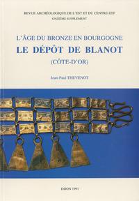 Livre numérique L'Âge du Bronze en Bourgogne. Le dépôt de Blanot (Côte-d'Or)