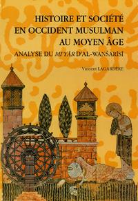 Livre numérique Histoire et société en Occident musulman au Moyen Âge