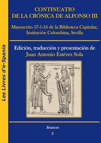 Livre numérique Continuatio de la Crónica de Alfonso III