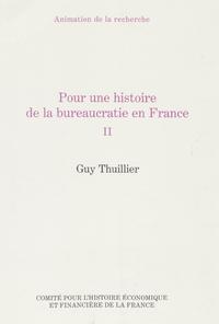 Livre numérique Pour une histoire de la bureaucratie en France