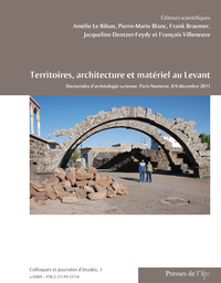 Livre numérique Territoires, architecture et matériel au Levant