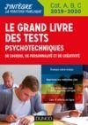 Libro electrónico Le Grand Livre des tests psychotechniques de logique, de personnalité et de créativité - 2019-2020