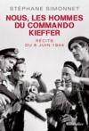 Livre numérique Nous, les hommes du commando Kieffer