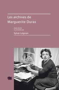 Electronic book Les archives de Marguerite Duras