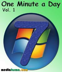Livre numérique Windows 7 - One Minute a Day Vol 1