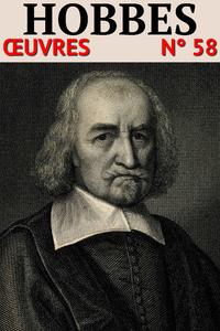 Livre numérique Thomas Hobbes - Oeuvres