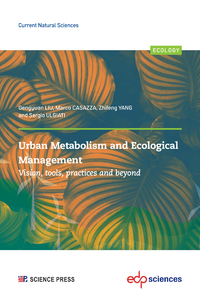 Electronic book Urban Metabolism and Ecological Management: