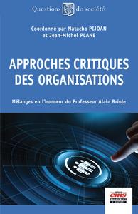 Livre numérique Approches critiques des organisations