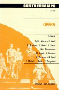 Livre numérique Opéra
