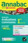 Livre numérique Annales du bac Annabac 2021 Toutes les évaluations communes 1re générale