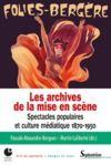 Livre numérique Les archives de la mise en scène