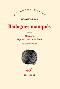 Livre numérique Dialogues manqués / Marconi, si je me souviens bien