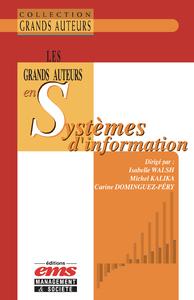 Livre numérique Les grands auteurs en systèmes d'information
