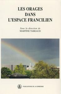Livre numérique Les orages dans l'espace francilien
