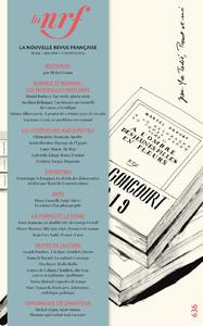 Electronic book La Nouvelle Revue Française N° 636