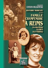 Livre numérique Histoire modeste d'une famille champenoise à Reims