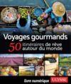 Livre numérique Voyages gourmands - 50 itinéraires de rêve autour du monde