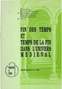 Livre numérique Fin des temps et temps de la fin dans l'univers médiéval