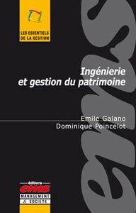 Livre numérique Ingénierie et gestion du patrimoine