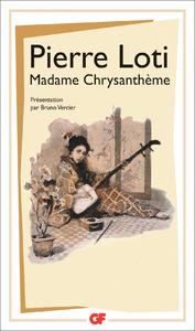 Livre numérique Madame Chrysanthème
