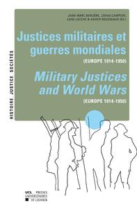 Livre numérique Justices militaires et guerres mondiales