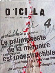 Libro electrónico d'ici là n°4 | Le palimpseste de la mémoire est indestructible