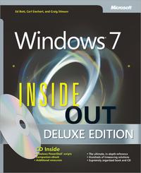 Livre numérique Windows® 7 Inside Out, Deluxe Edition