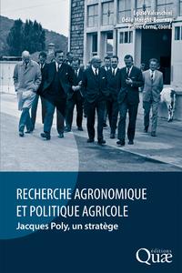 Livre numérique Recherche agronomique et politique agricole