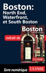 Livre numérique Boston - West End, North End, Waterfront