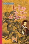 Livre numérique Le Page du Duc de Savoie