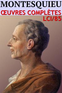 Livre numérique Montesquieu - Oeuvres complètes