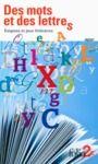 Livre numérique Des mots et des lettres. Énigmes et jeux littéraires