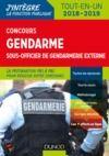 Livre numérique Concours Gendarme sous-officier de gendarmerie externe - 4e éd.
