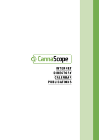 Livre numérique CannaScope 2015-2016 - English Edition