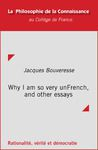 Electronic book Why I am so very unFrench, and other essays