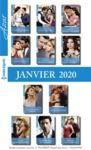 Electronic book Pack mensuel Azur : 11 romans + 1 gratuit (Janvier 2020)