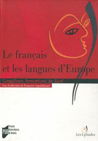Libro electrónico Le français et les langues d'Europe