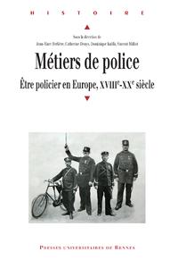 Livre numérique Métiers de police