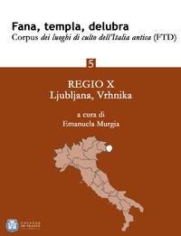 Livre numérique Fana, templa, delubra. Corpus dei luoghi di culto dell'Italia antica (FTD) - 5