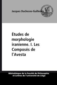 Livre numérique Études de morphologie iranienne. I. Les Composés de l'Avesta