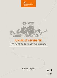 Electronic book Unité et diversité, les défis de la transition birmane