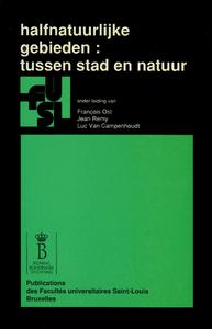 Livre numérique Halfnatuurlijke gebieden : tussen stad en natuur