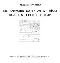 Livre numérique Les amphores du VIe au IVe siècle dans les fouilles de Lipari