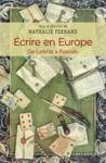 Livre numérique Ecrire en Europe. De Leibniz à Foscolo