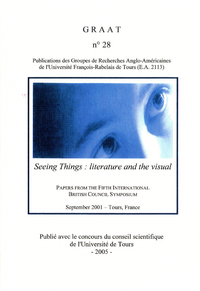 Livro digital Seeing Things: literature and the visual