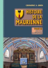 Livre numérique Histoire de la Maurienne (Tome 3)