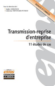 Electronic book Transmission-reprise d'entreprise. 11 études de cas